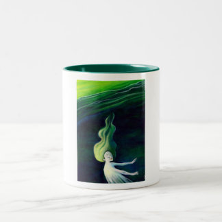 In the River mug! Two-Tone Coffee Mug