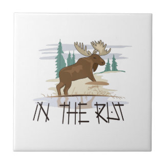 In the Rut Small Square Tile