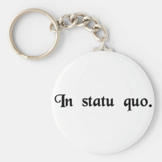 In the same state. basic round button key ring