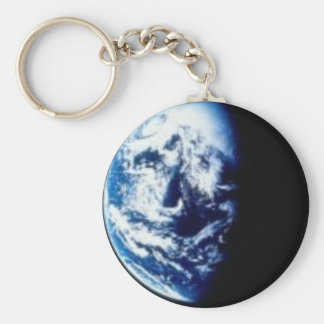 In the Shadows of Earth Basic Round Button Key Ring