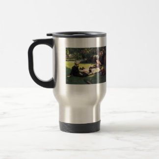 In the sun by James Tissot Coffee Mug