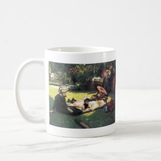 In the sun by James Tissot Coffee Mugs
