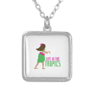 In The Tropics Personalized Necklace