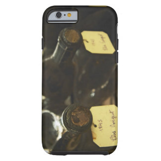 In the underground wine cellar: lying bottles in tough iPhone 6 case