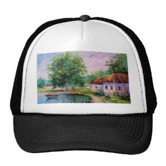 in the village cap
