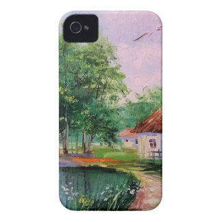 in the village iPhone 4 Case-Mate case