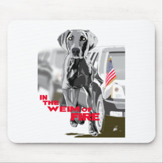 In The Weim Of Fire Mousepads