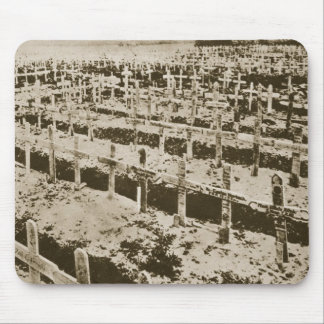 In the West nothing New: A German cemetery in Fran Mouse Mat