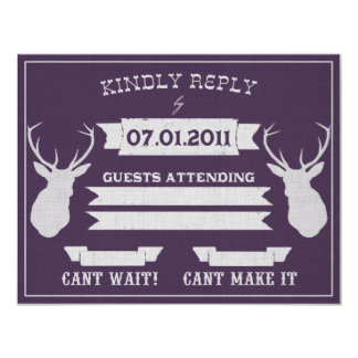 In the Wild Response 11 Cm X 14 Cm Invitation Card