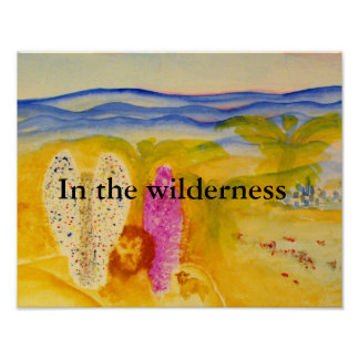 In the wilderness poster