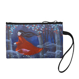 In The Woods With Animal Spirits. Coin Wallets
