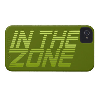 IN THE ZONE custom Blackberry case