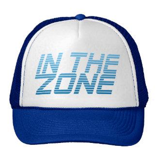 IN THE ZONE custom hat