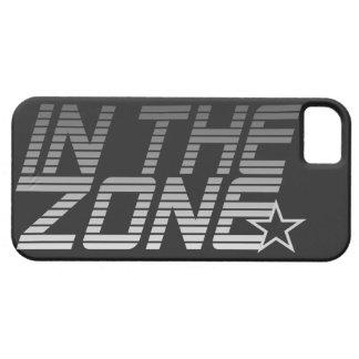 IN THE ZONE custom iPhone case