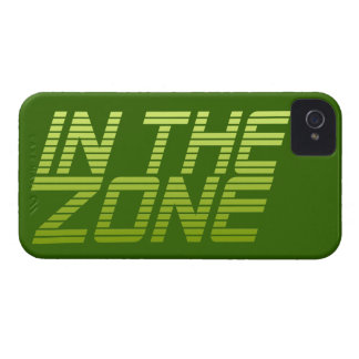 IN THE ZONE custom iPhone case-mate