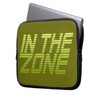 IN THE ZONE custom laptop sleeve