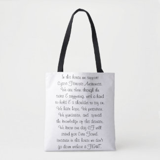 In This House - Cystic Fibrosis Tote