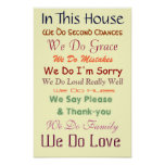 In This House We Do Love Poster