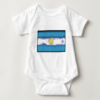 in to the sky, Argentina Baby Bodysuit