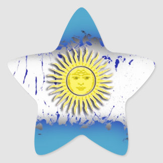 in to the sky, Argentina Star Sticker