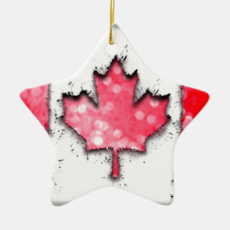 in to the sky, Canada Ceramic Star Decoration