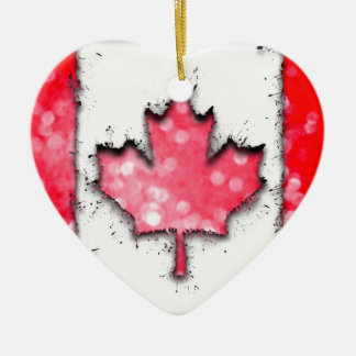 in to the sky, Canada Christmas Ornament