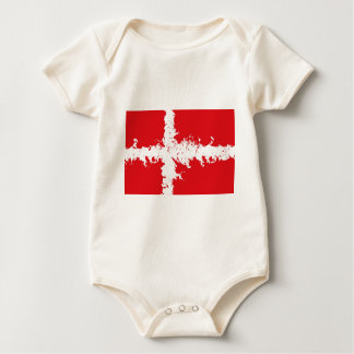 in to the sky,(Denmark) Baby Bodysuit