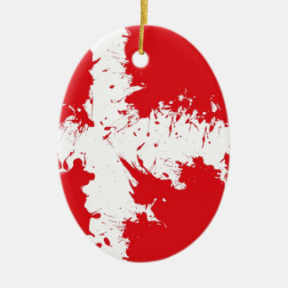in to the sky,(Denmark) Christmas Ornament
