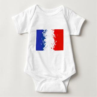 in to the sky, france baby bodysuit
