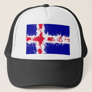 in to the sky, iceland trucker hat