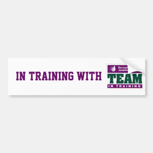In training with TNT Bumper Sticker