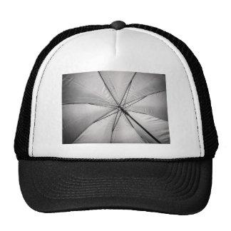 In umbrella trucker hats