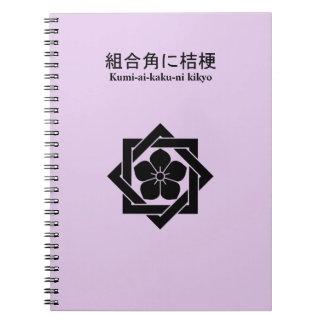 In union angle Kikiyou Spiral Notebook