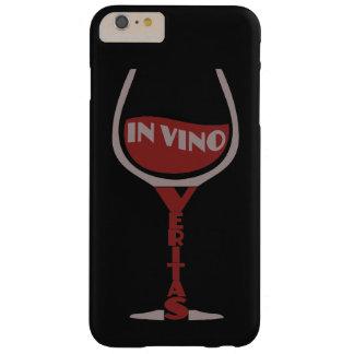 In Vino Veritas custom color Motorola case Barely There iPhone 6 Plus Case