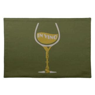 In Vino Veritas custom placemats