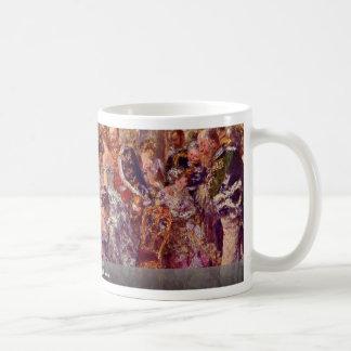 In White Hall By Menzel, Adolph Von Coffee Mug