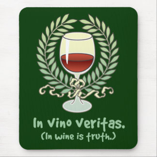 In Wine Is Truth Mouse Mat