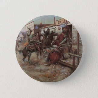 In Without Knocking 6 Cm Round Badge