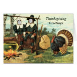 In Your Face Vintage Thanksgiving ... Greeting Cards