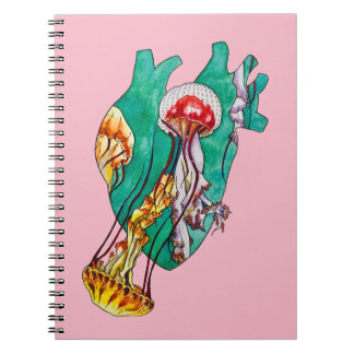 in your heart spiral notebook