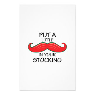 In Your Stocking Customized Stationery