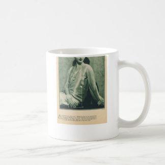 Ina Claire 1929 Basic White Mug
