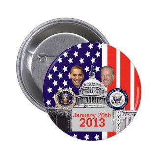 Inaugural 2013 Button