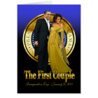Inaugural Ball - The First Couple Card