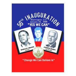 Inaugural JFK Postcard