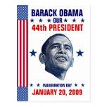 Inauguration (Blank Back) Post Card