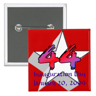 Inauguration Day for the 44th President Pin