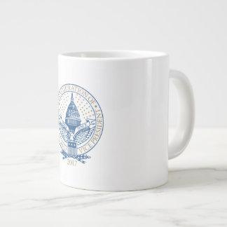Inauguration Donald Trump Mike Pence 2017 Logo USA Large Coffee Mug