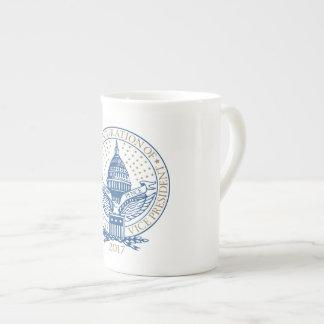 Inauguration Donald Trump Mike Pence 2017 Logo USA Tea Cup