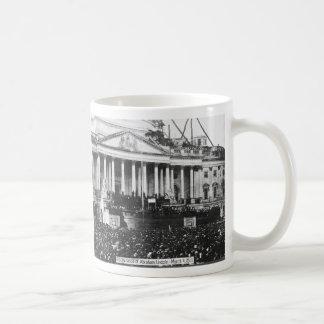 Inauguration of Abraham Lincoln March 4, 1861 Basic White Mug
